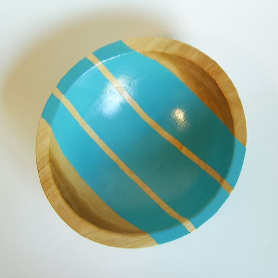 All Things Bright & Neon: Fun Wood Tableware from Nicole Porter Design: gallery image 10