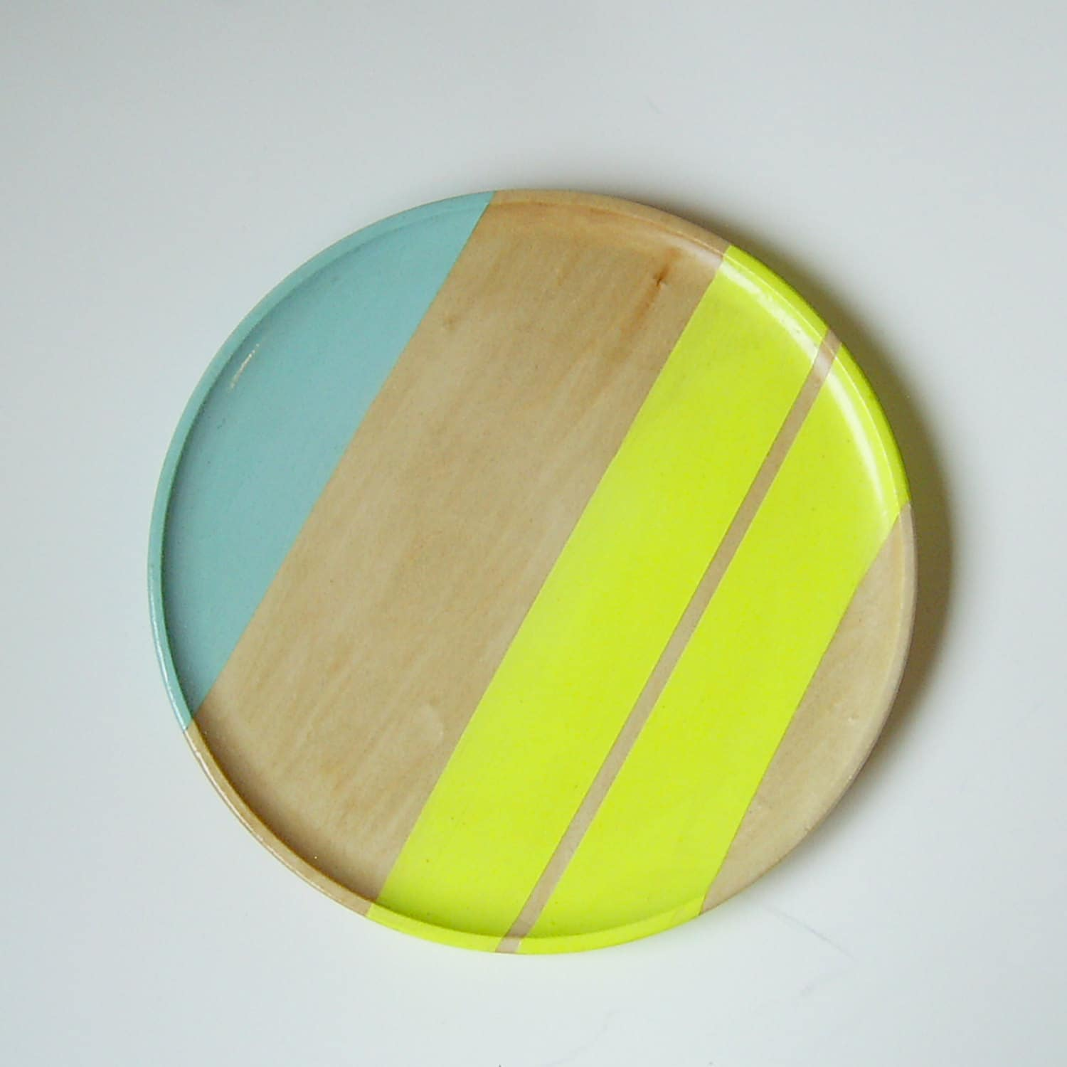 All Things Bright & Neon: Fun Wood Tableware from Nicole Porter Design: gallery image 5
