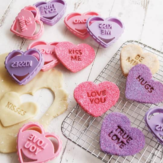 Conversation Heart Cookie Cutters: Improving on a Classic