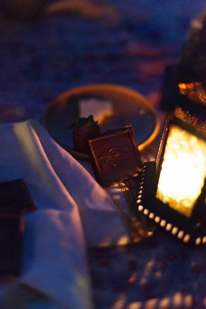 Escape With Ghirardelli Chocolate: A Picnic at Sunset