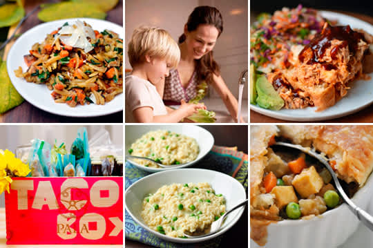 Suppers with Sweet Potatoes, New Baby Taco Box & How to Make Risotto