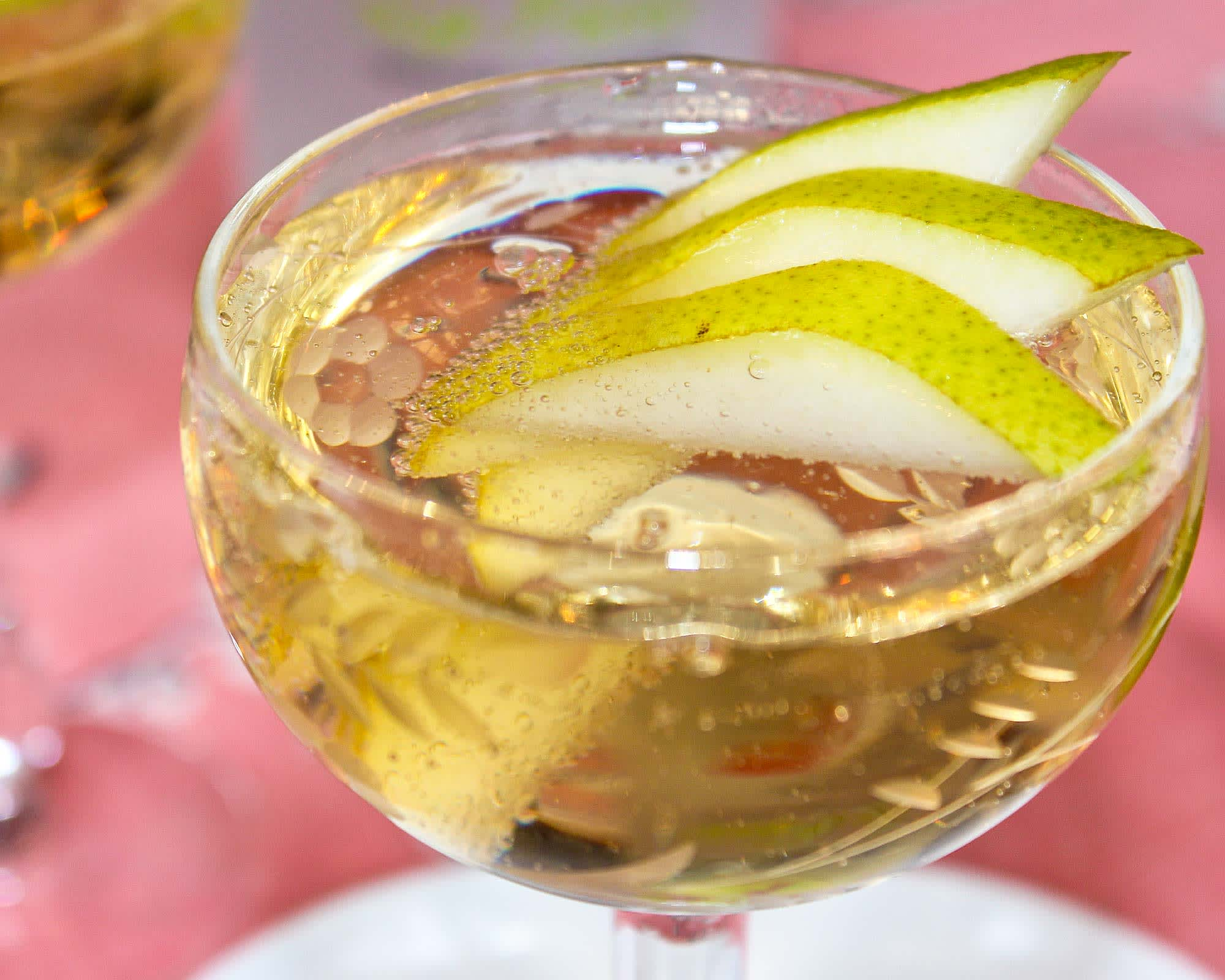 A Cocktail Recipe for Passover: Twinkling Pear Cocktail