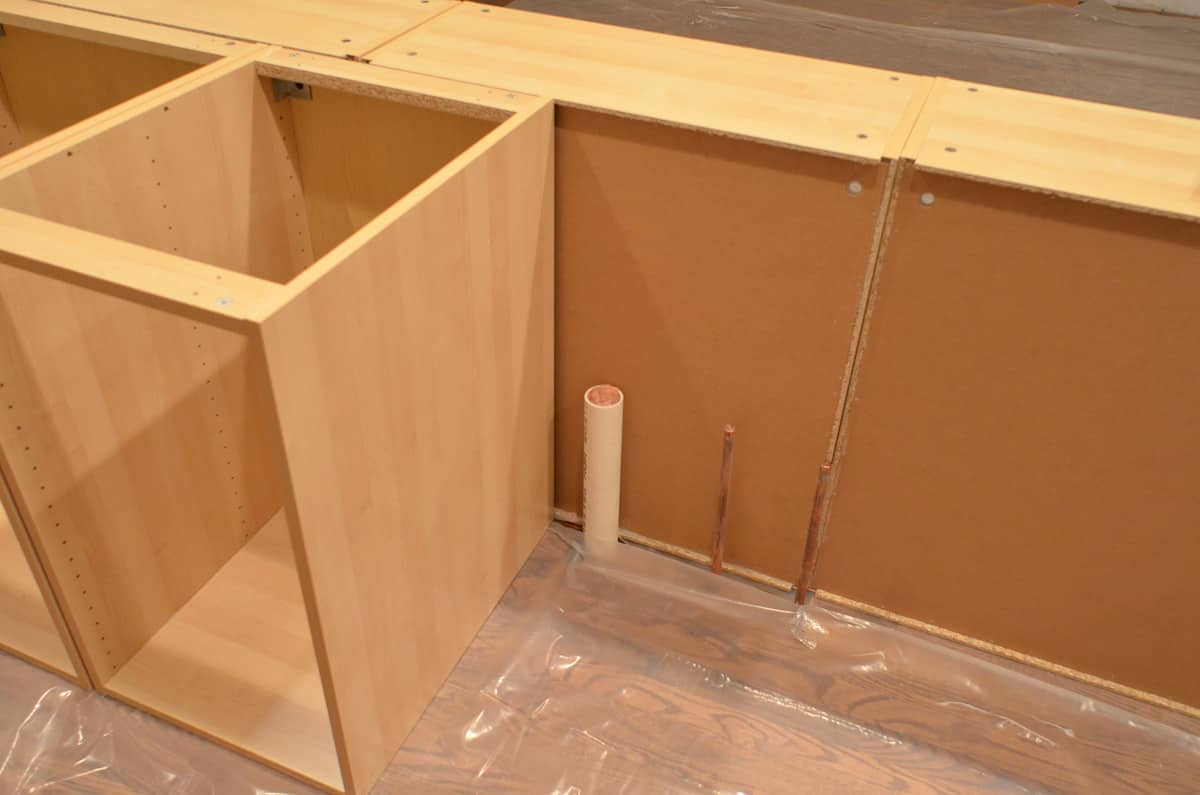 Faith's Kitchen Renovation: How We Assembled & Installed Our IKEA Kitchen: gallery image 9