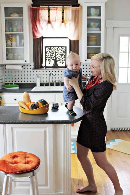 Sarah's Bright & Classy Grand Rapids Kitchen