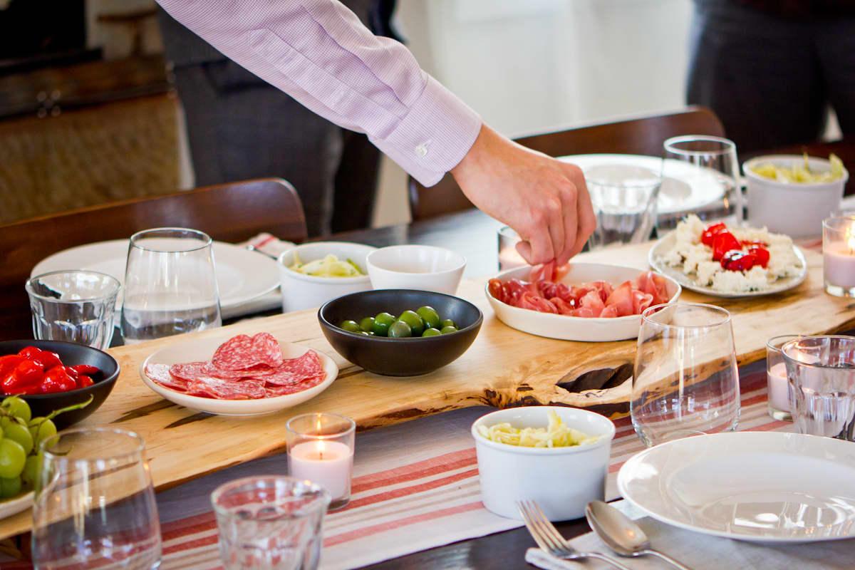 An Italian Polenta Supper Party