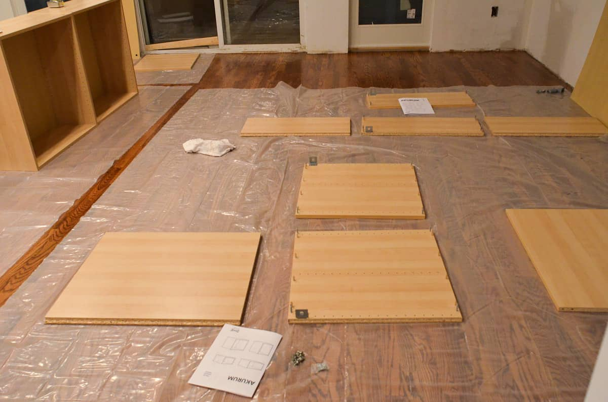 Faith's Kitchen Renovation: How We Assembled & Installed Our IKEA Kitchen: gallery image 3