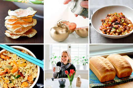 Edible Spray Paint, 12 Winter Salads & Microwave Potato Chips