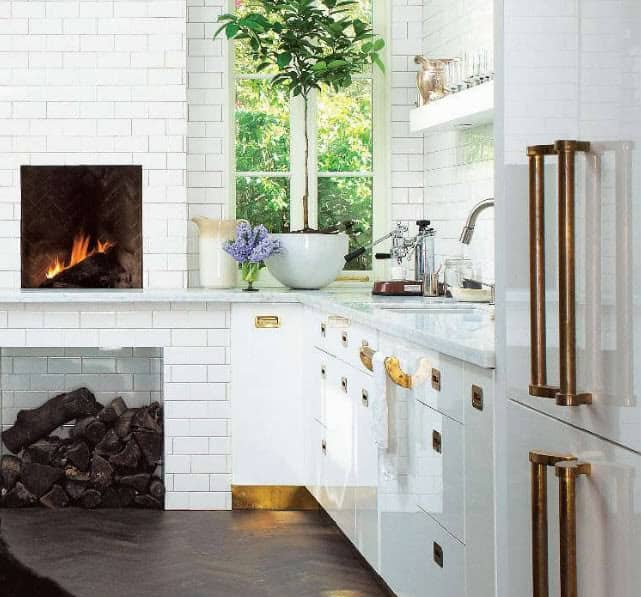 Get the Look: Brass Kitchen Cabinet Pulls: gallery image 4