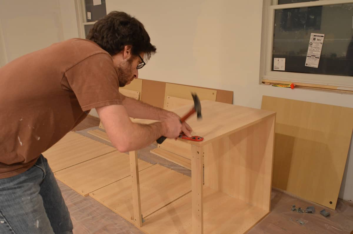 Faith's Kitchen Renovation: How We Assembled & Installed Our IKEA Kitchen: gallery image 6
