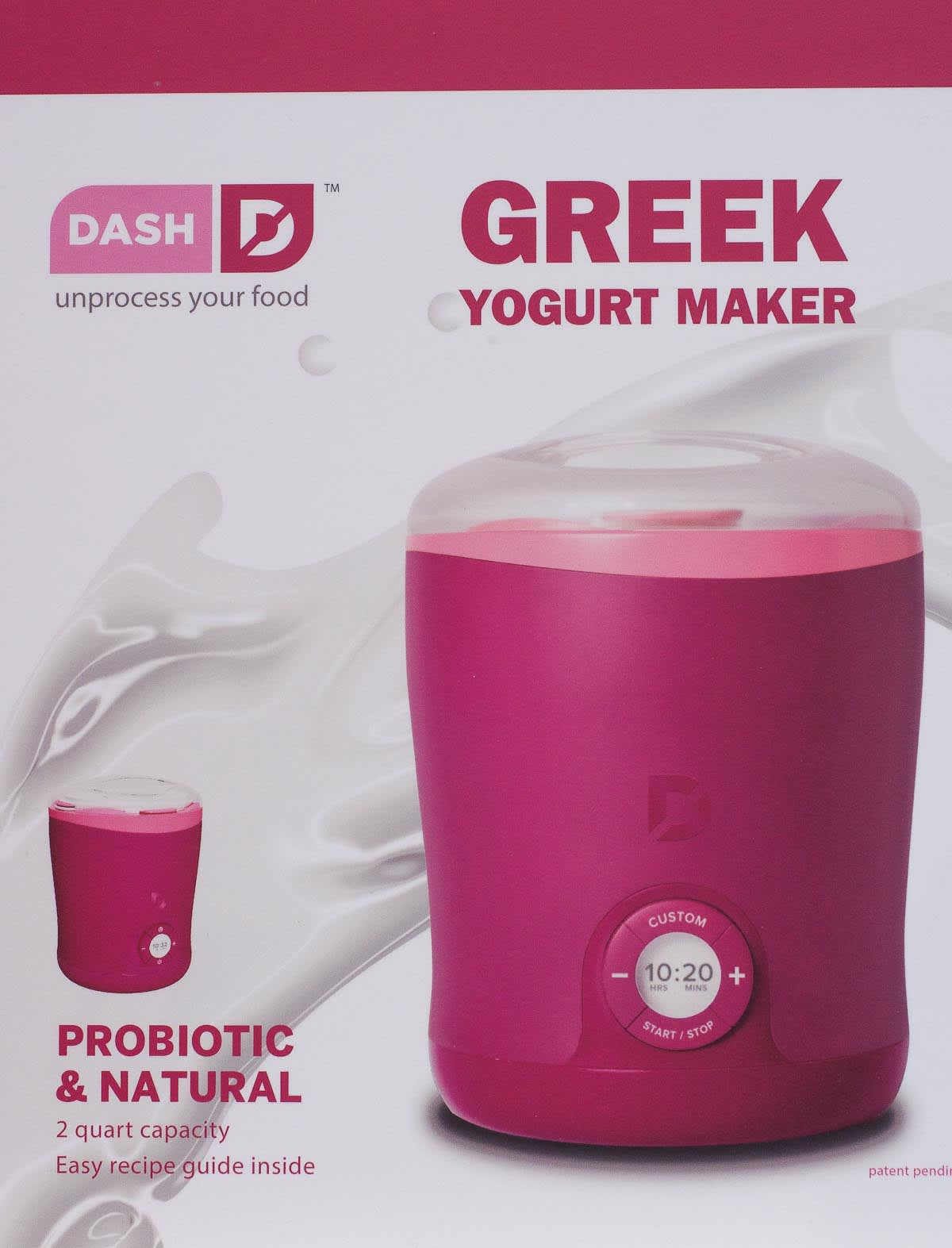The Dash Greek Yogurt Maker: