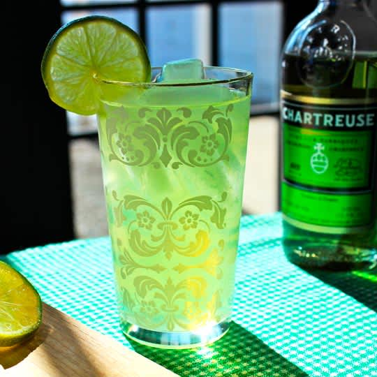 A Perfect Green Drink for St. Patrick's Day! The Last Word Cocktail