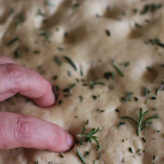 How To Make Easy Rosemary Focaccia: gallery image 13