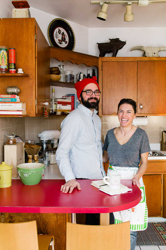 Julie and Andy's Bright, Happy Chicago Kitchen's KITCHEN