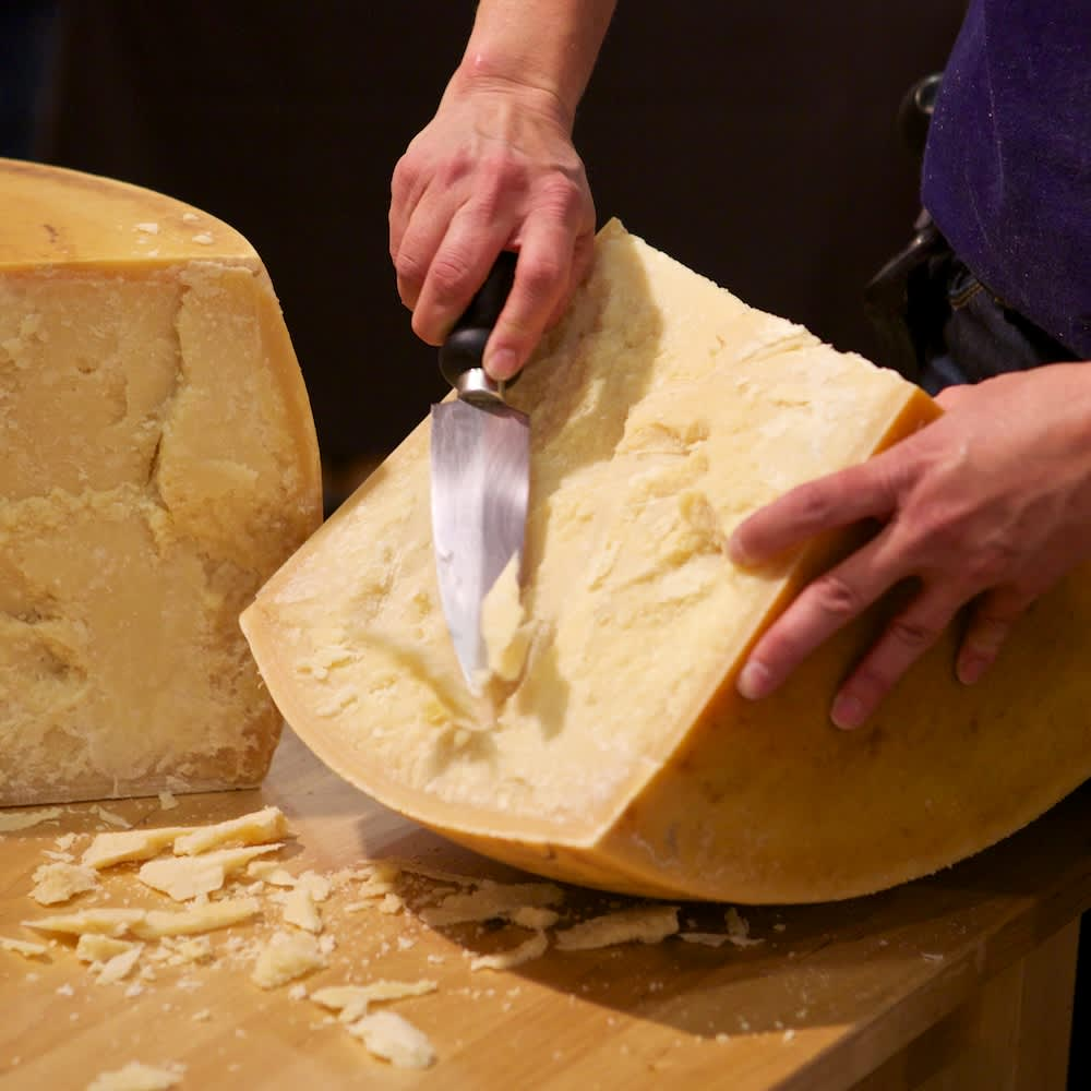 Have You Tried Freshly Cracked Cheese?