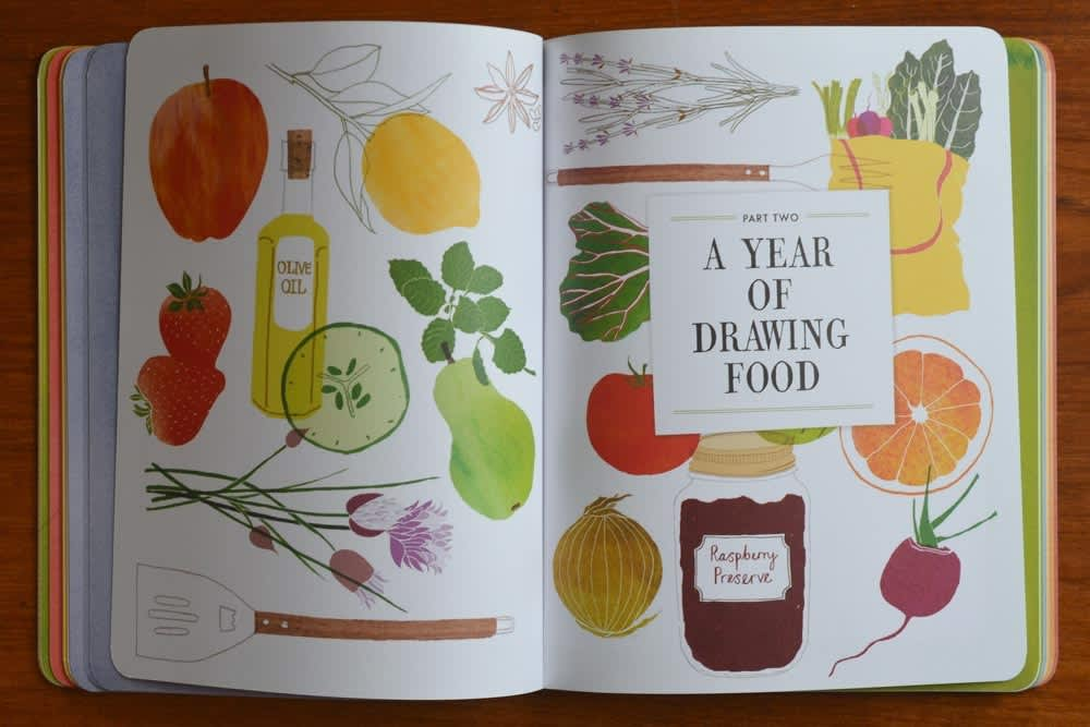 Drawing Food & Snapn Food: New Books Help You Document Your Dinner: gallery image 2