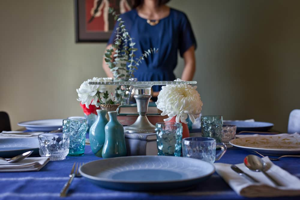 A Book Club Brunch: Setting a Book-Themed Table