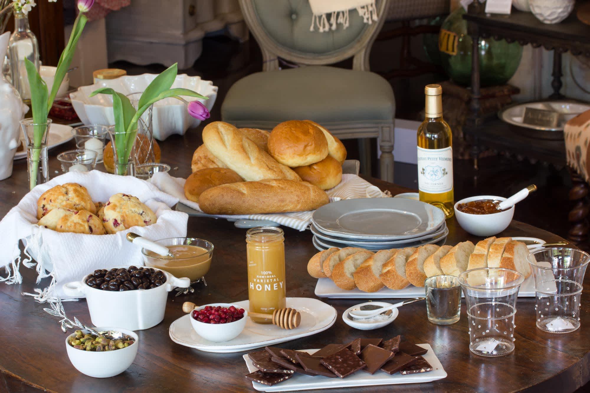 Dessert Recipe: DIY Sweet & Savory Crostini Bar