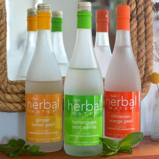 Mix It Up: Sparkling Ayala's Herbal Water