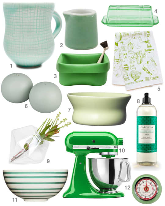 Inspired by Spring: Shades of Green!