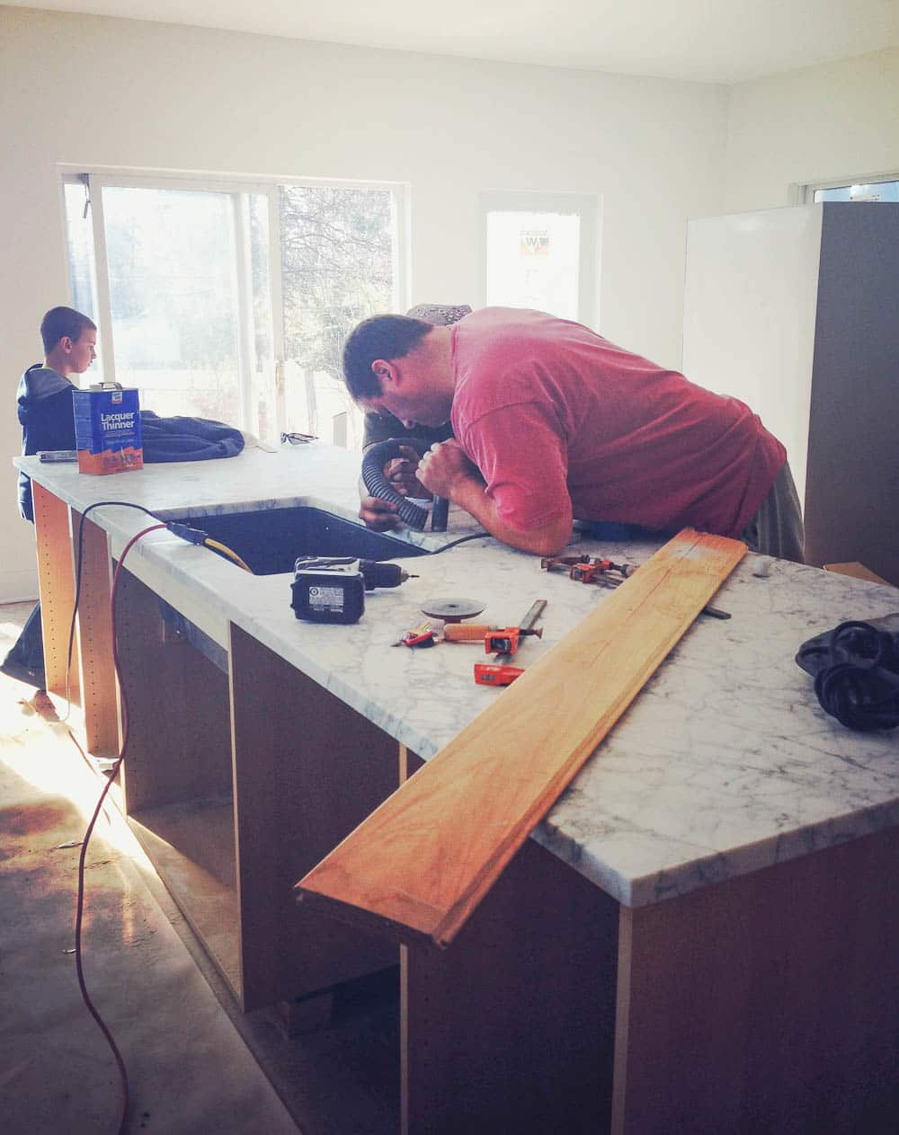 Faith's Kitchen Renovation: How We Finally Got Our Marble Countertops