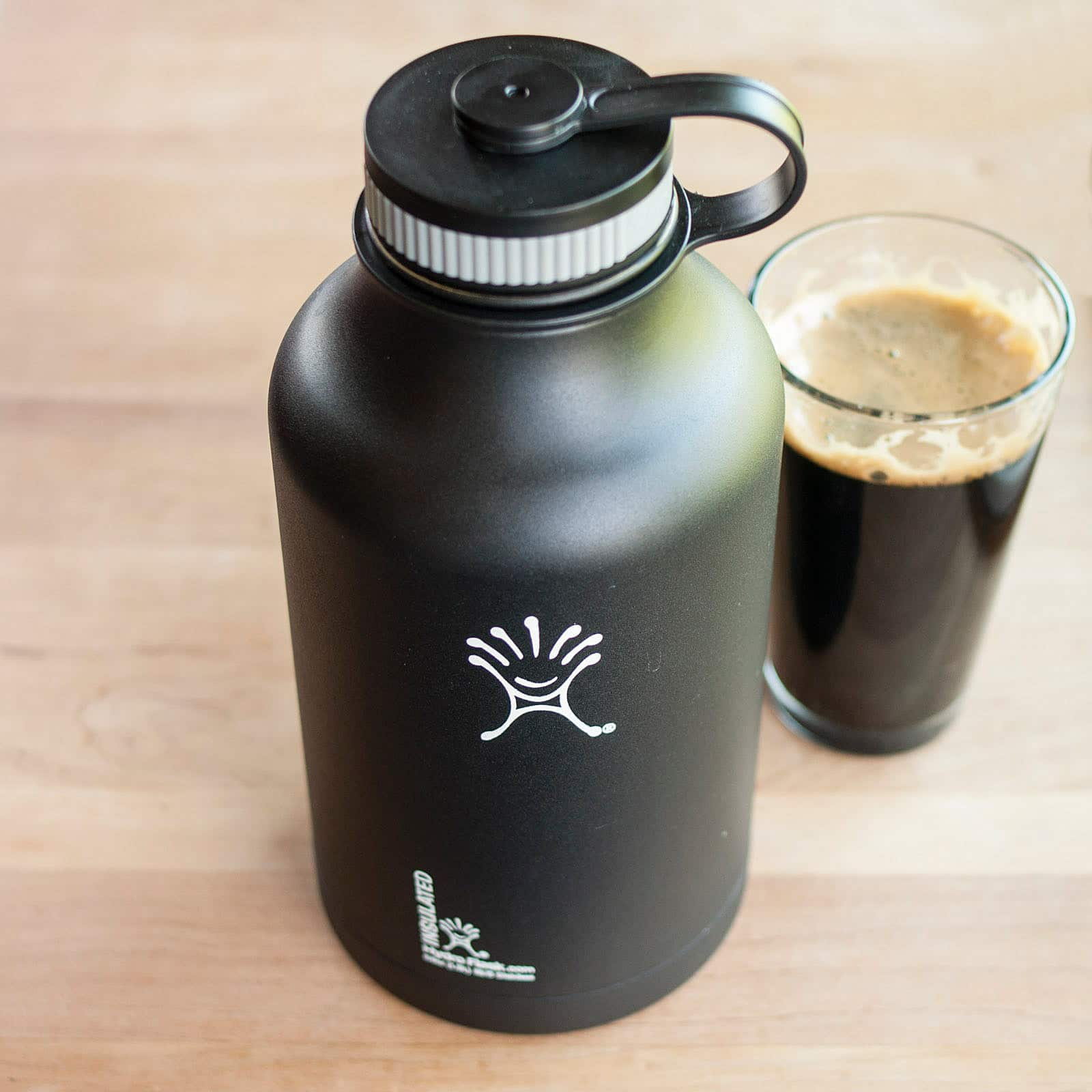 For Beer (And A Lot More): Hydro Flask Vacuum-Insulated Stainless Steel Growler: gallery image 1