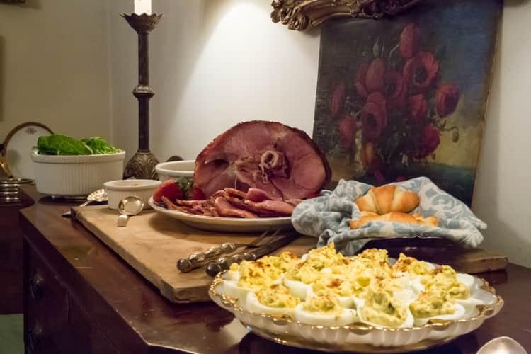 Spring Recipe: Brown Sugar & Mustard Glazed Ham
