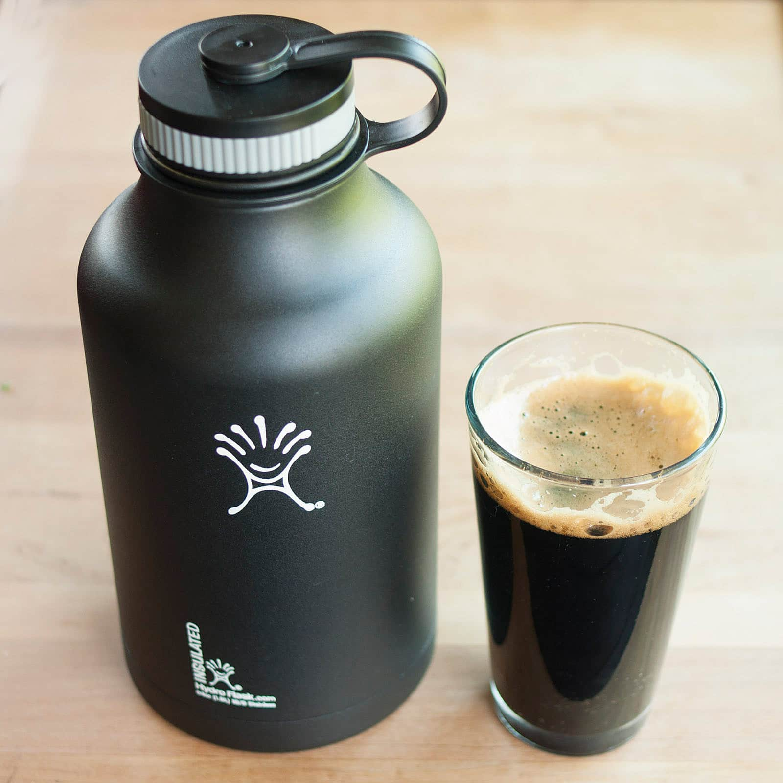 For Beer (And A Lot More): Hydro Flask Vacuum-Insulated Stainless Steel Growler: gallery image 4