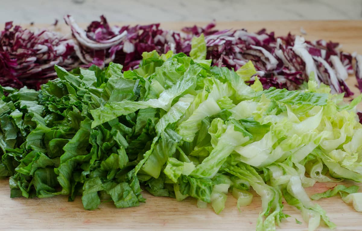 Lunch Recipe: Radicchio Salad with Avocado, Red Quinoa, & Ricotta Salata