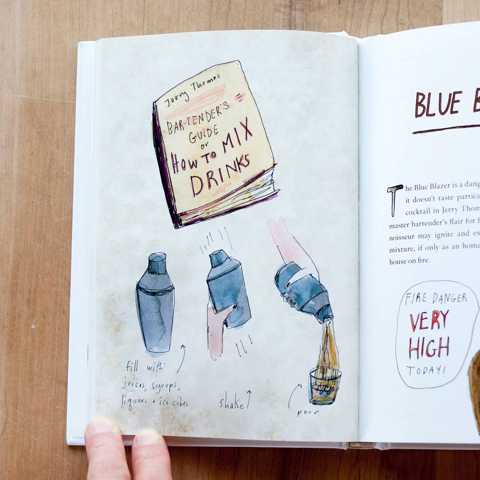 An Illustrated Guide to Cocktails by Orr Shtuhl and Illustrated by Elizabeth Graeber: gallery image 2