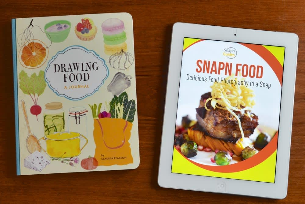 Drawing Food & Snapn Food: New Books Help You Document Your Dinner: gallery image 1