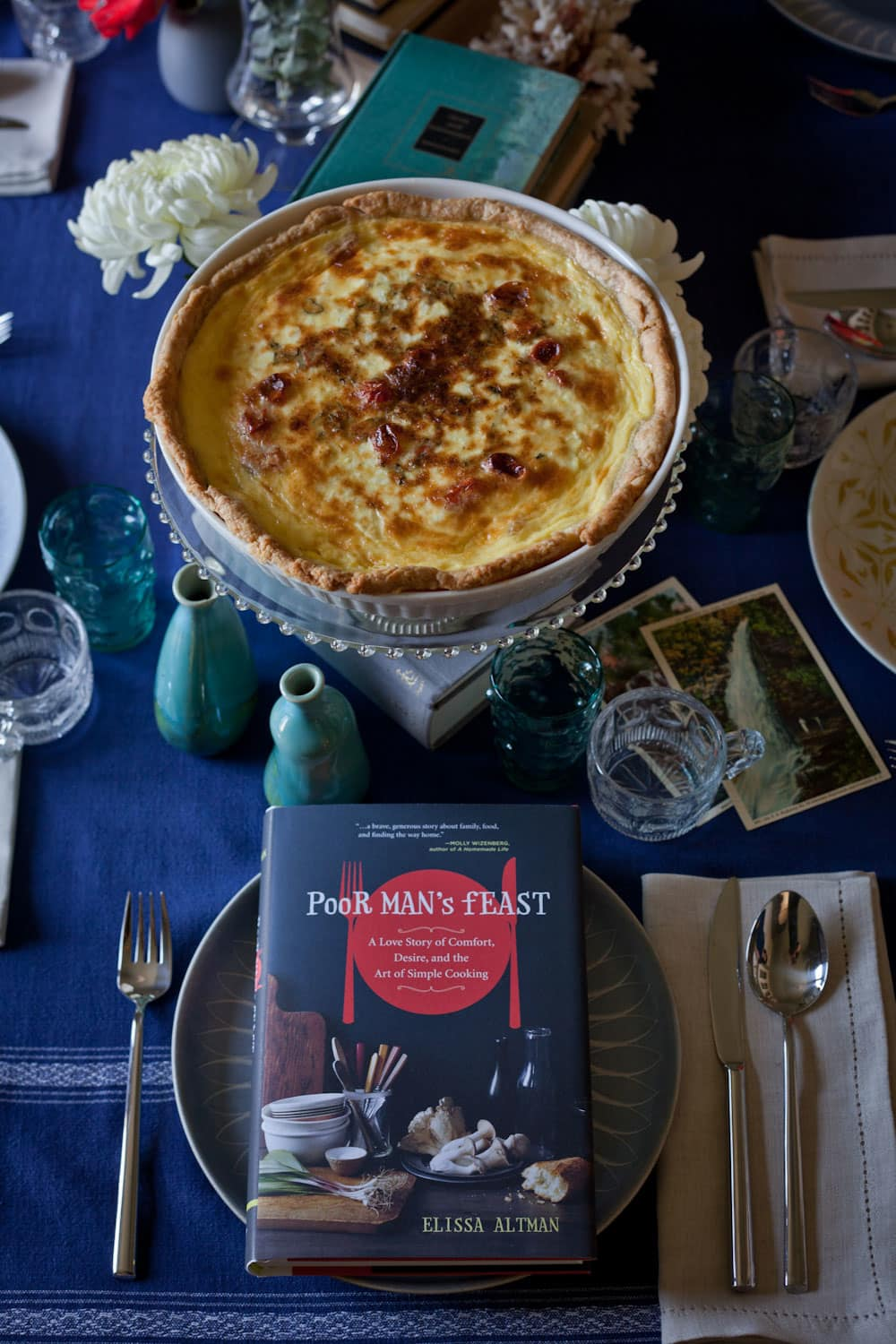 Recipe: Roasted Tomato and Goat Cheese Quiche