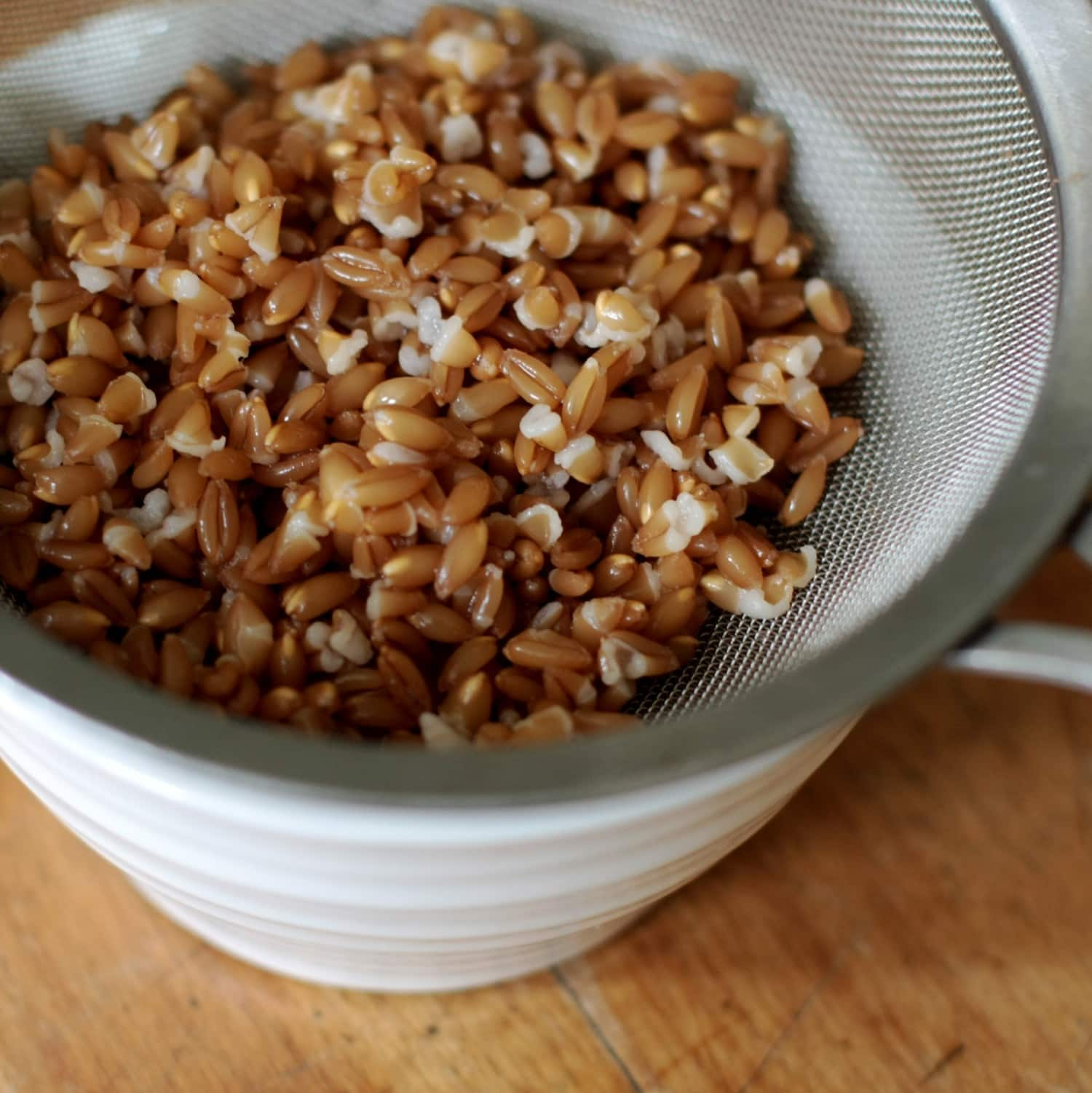 How To Cook Tender, Chewy Wheat Berries on the Stovetop: gallery image 4