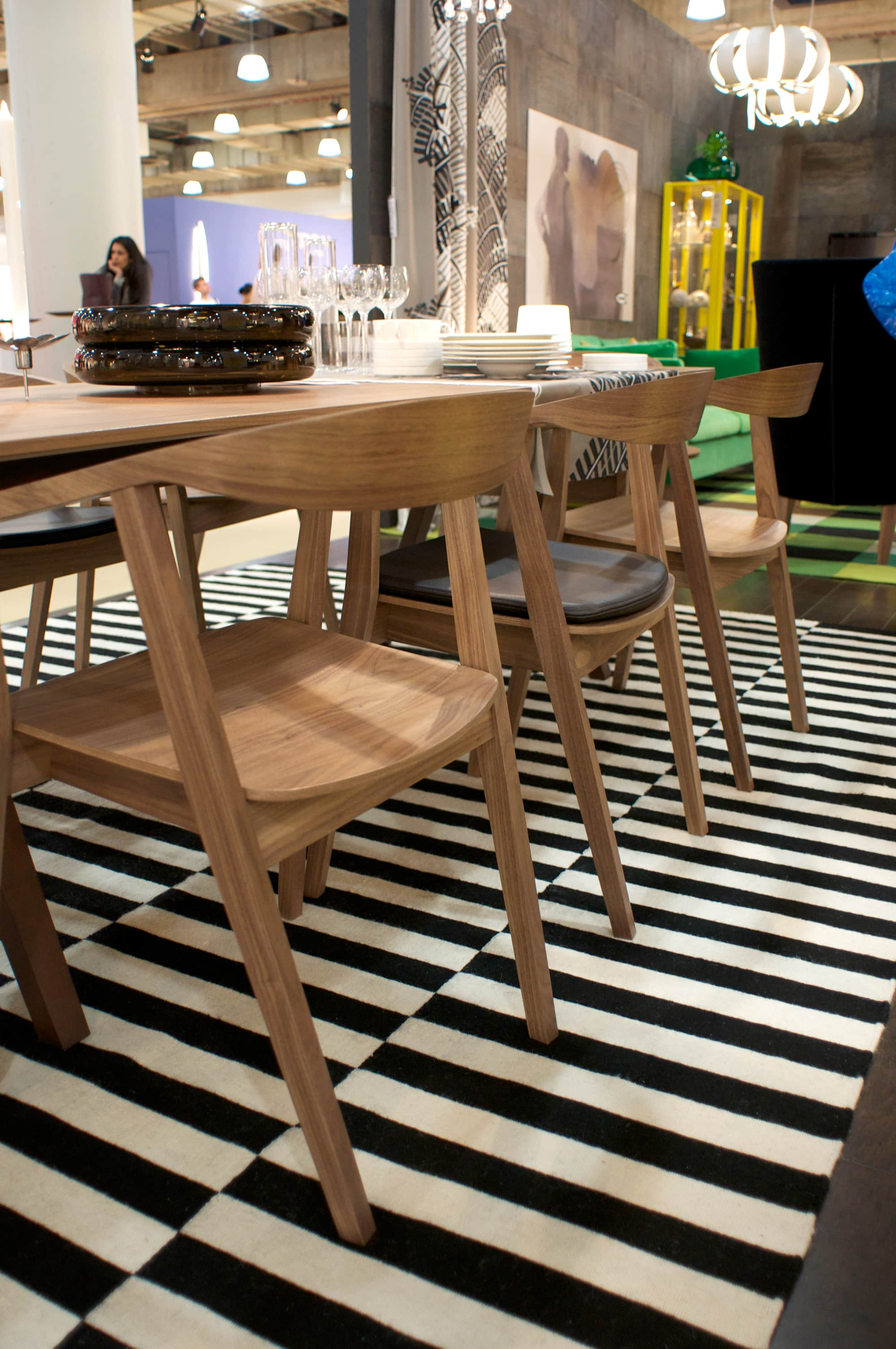 New from IKEA! The Stockholm Table and Chairs, Coming August