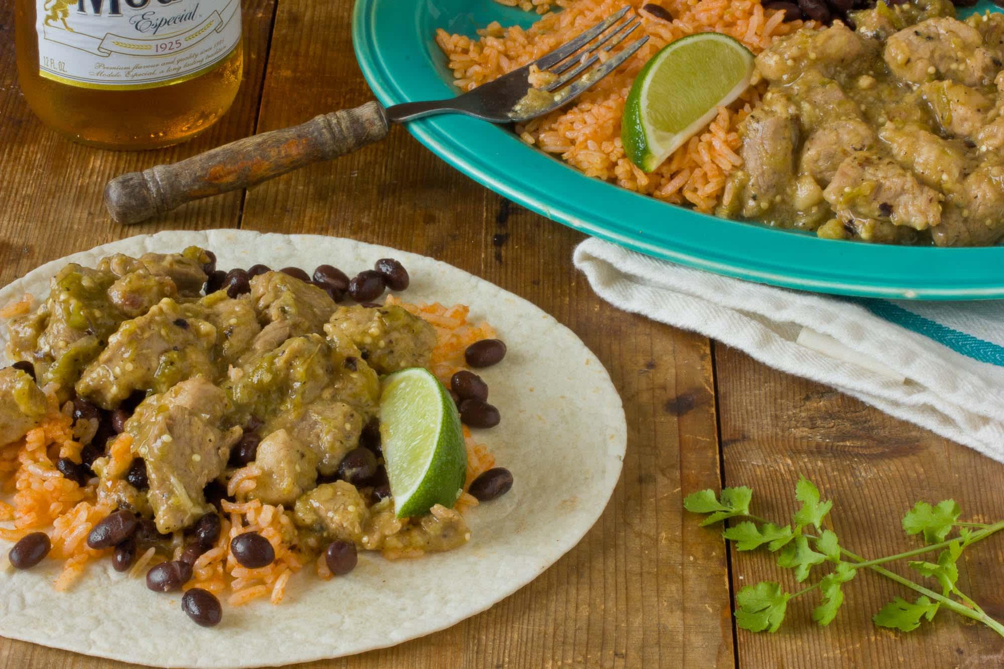 Cinco de Mayo Recipe: Pork Tenderloin Smothered in Tangy Tomatillo Sauce