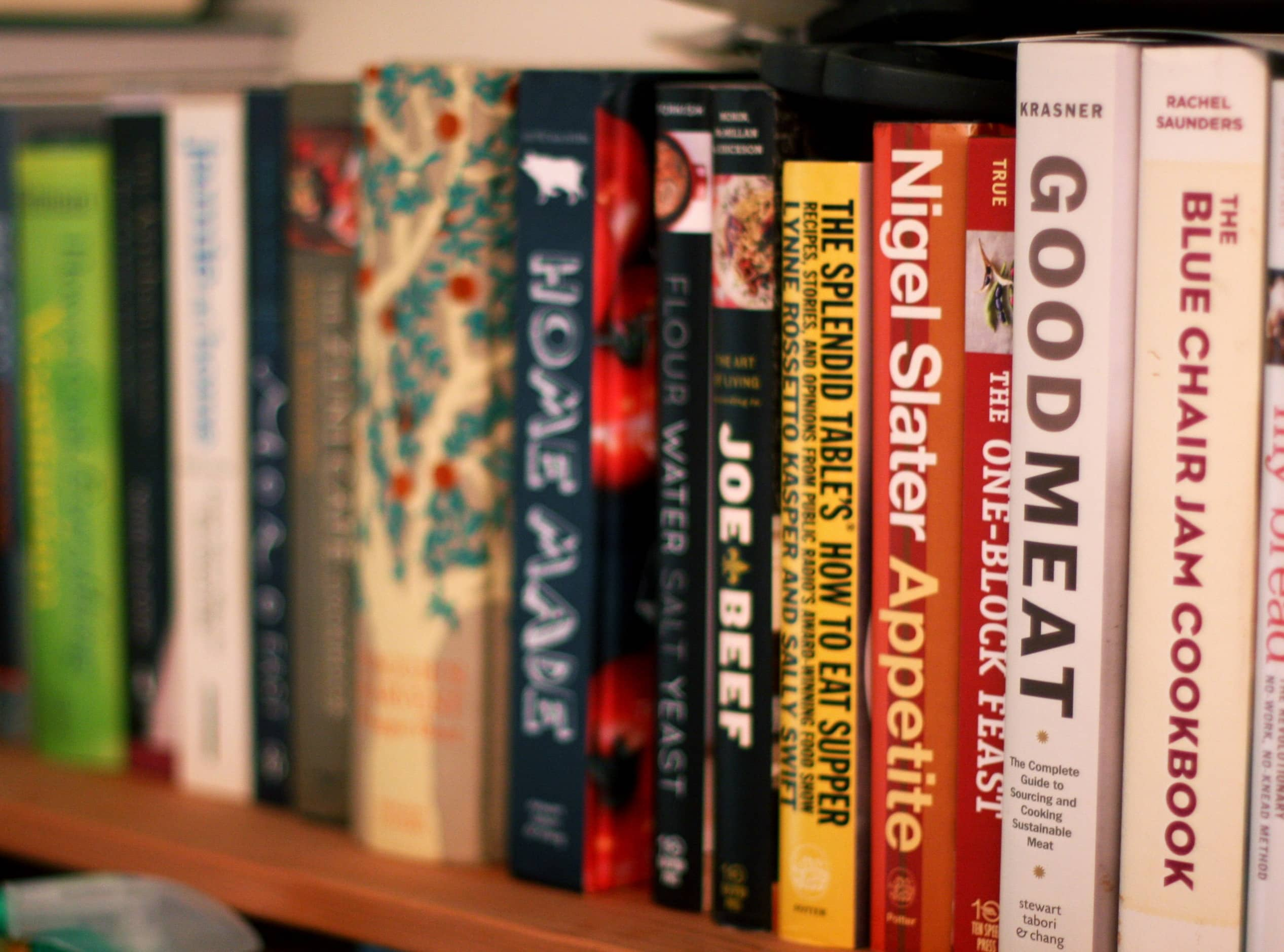 How to Deal With Your Cookbook Addiction
