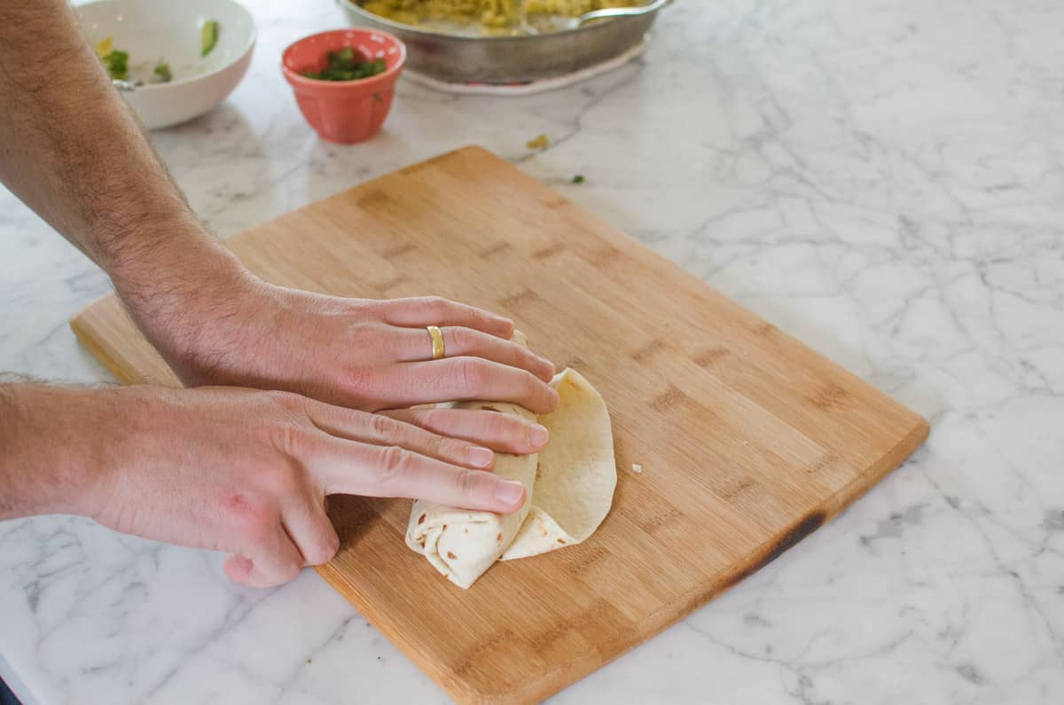 How To Wrap a Burrito (So It Doesn't Fall Apart When You Eat It!): gallery image 13