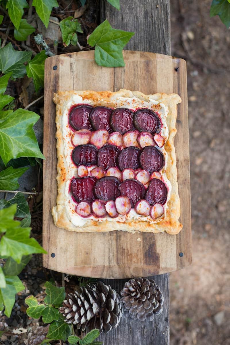 Recipe: Roasted Beet and Turnip Galette