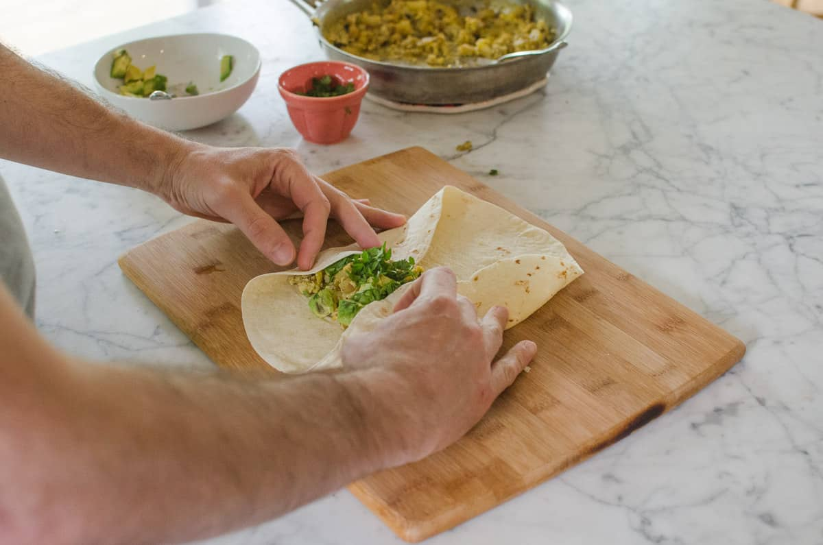How To Wrap a Burrito (So It Doesn't Fall Apart When You Eat It!): gallery image 6