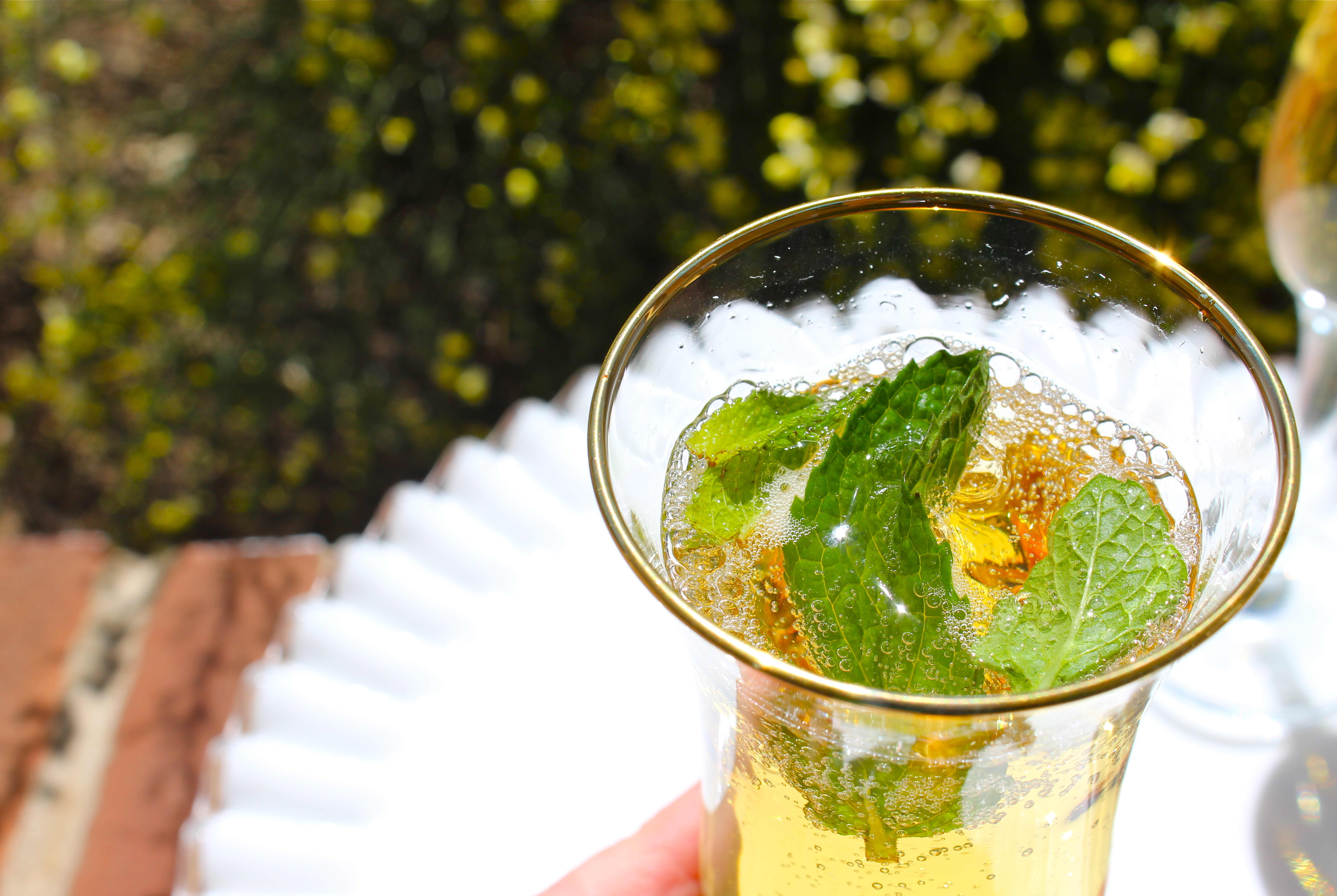 My Champagne Julep Recipe, A Toast to Gatsby & Perfect for Mother's Day