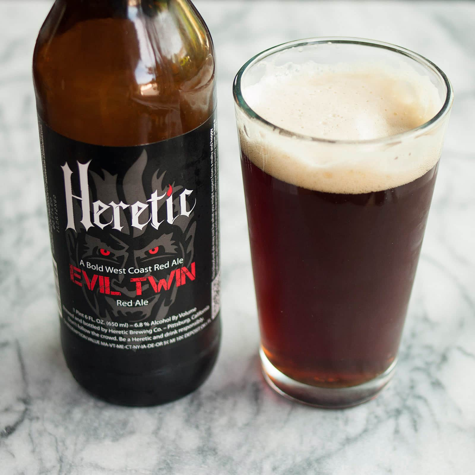 Beer Review: Evil Twin Red Ale from Heretic Brewing Company