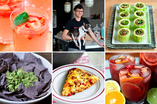 15 Fresh Spring Cocktails, How to Make a Frittata & A Loft Kitchen with a Puppy