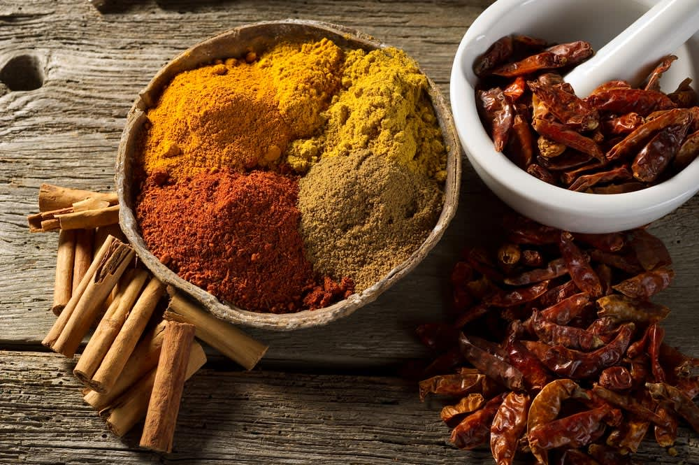 A World of Spices: 24 International Mixes and Blends