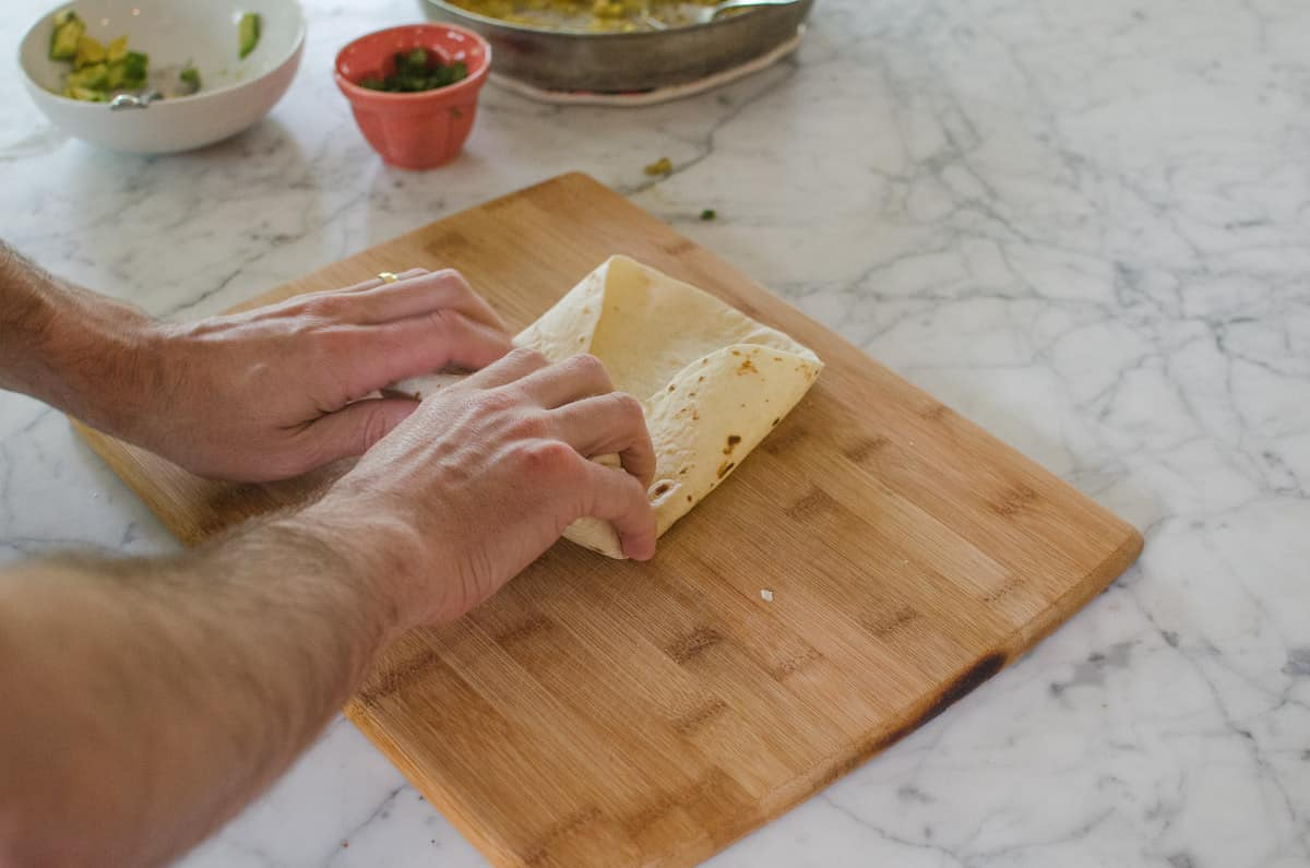How To Wrap a Burrito (So It Doesn't Fall Apart When You Eat It!): gallery image 10
