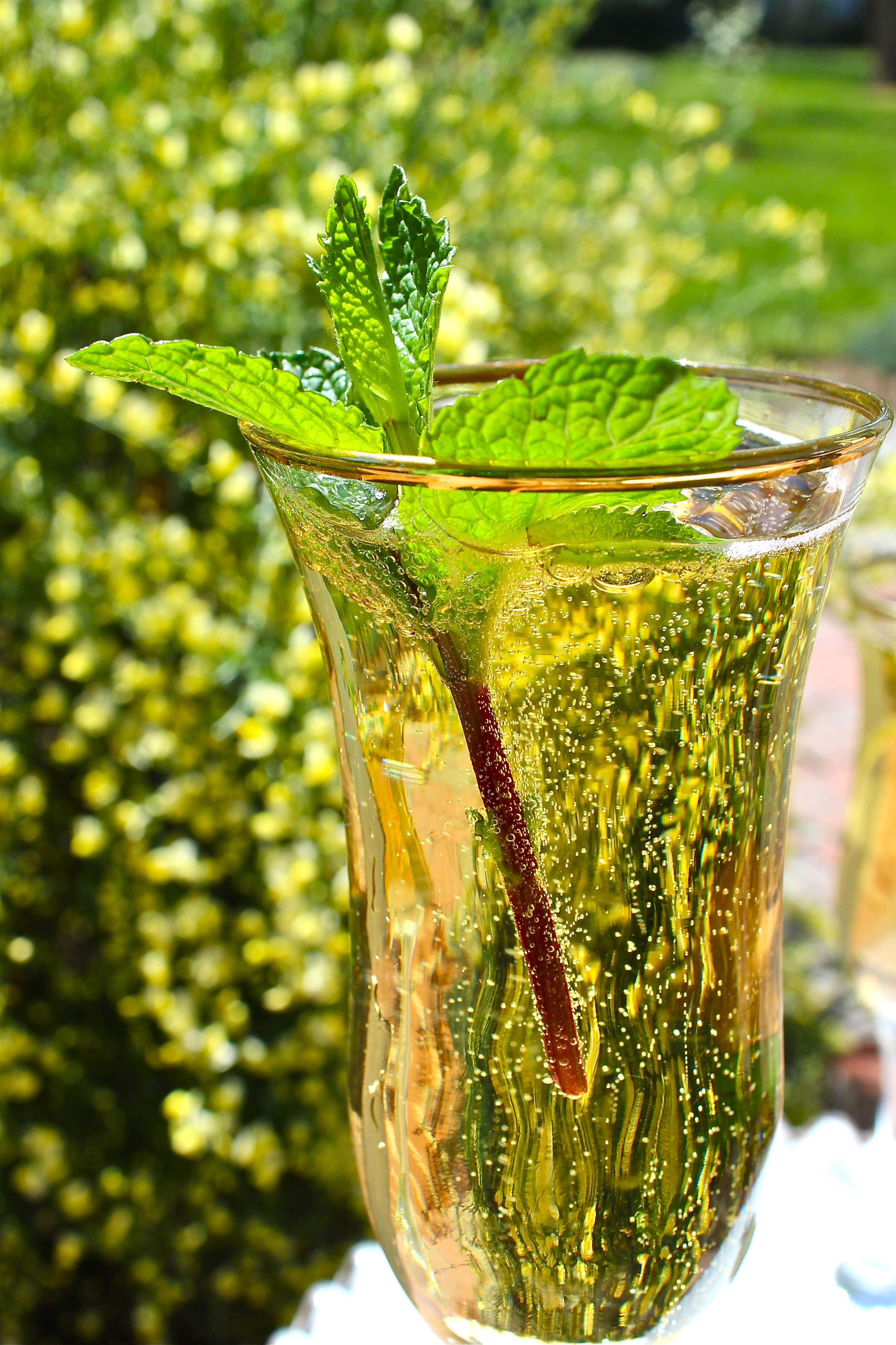 Recipe: My Champagne Julep A Toast to Gatsby and Perfect for Mother's Day too