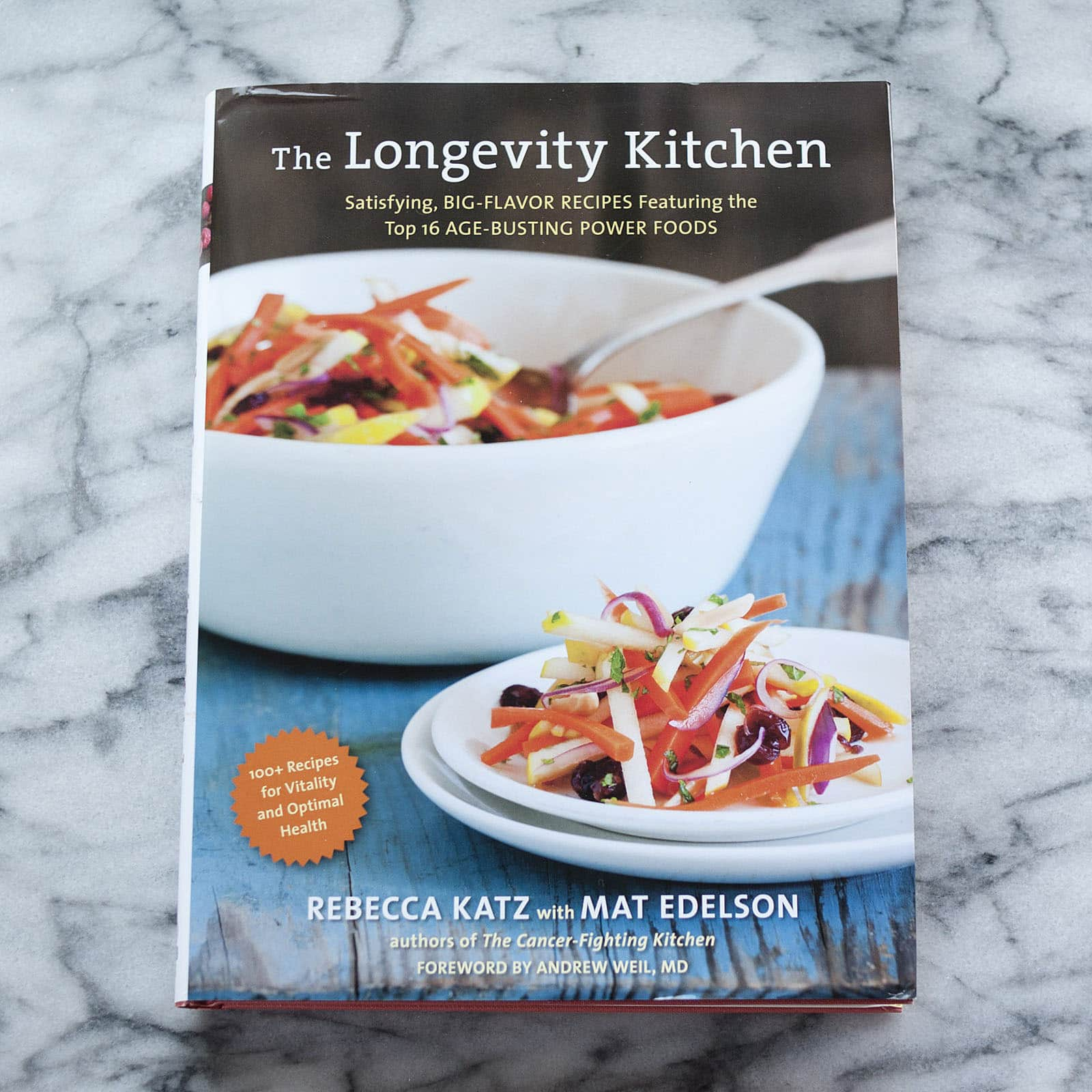 The Longevity Kitchen by Rebecca Katz with Mat Edelson: gallery image 1