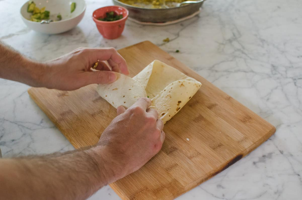 How To Wrap a Burrito (So It Doesn't Fall Apart When You Eat It!): gallery image 9