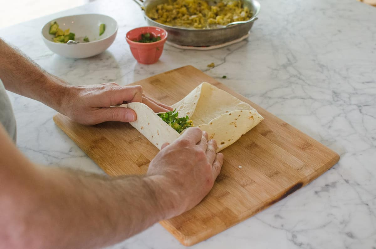 How To Wrap a Burrito (So It Doesn't Fall Apart When You Eat It!): gallery image 8