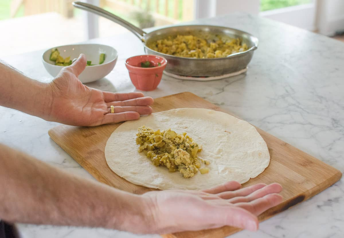 How To Wrap a Burrito (So It Doesn't Fall Apart When You Eat It!): gallery image 4