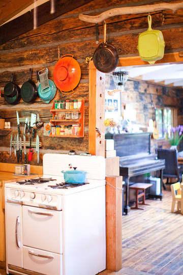 Summer Getaways: Cozy Cabin Kitchens: gallery image 2