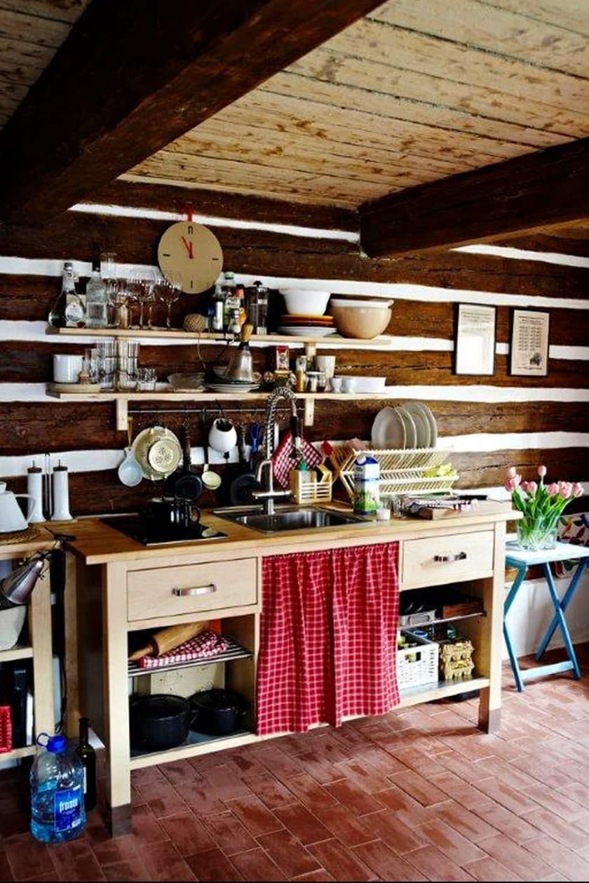 Summer Getaways: Cozy Cabin Kitchens: gallery image 3